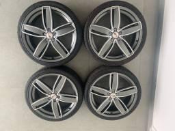 Rodas 20 c pneus novos 5x114