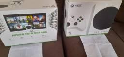Xbox Series S Lacrado Nova geração Magazine Luiza 1 ano nota fiscal e garantia