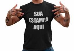 Camiseta Personalizada Com Sua Estampa Aqui