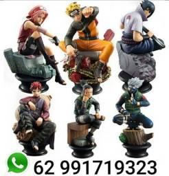 Naruto coleção 6 figure action fazemos entregas