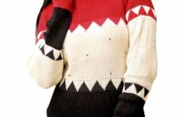 Blusa de frio feminina tricô.modinha