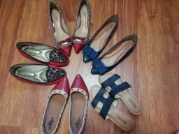 Sapatos número 34, lote