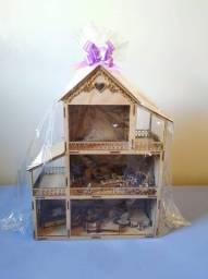 Casa de boneca pra Polly e Lol