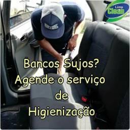 Lavagem a Seco e Higienização em Veículos!!