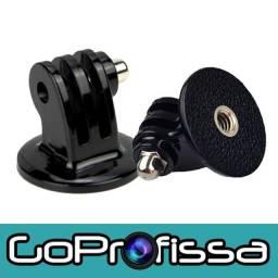 Adaptador para Tripé e Bastão - Acessórios para GoPro e câmeras