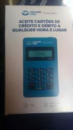 Máquina de cartão crédito mercado pago