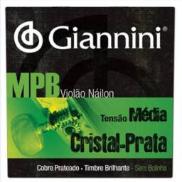 Encordoamento Giannini MPB nylon.