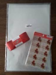 Título do anúncio: Kit Presente/embalagem 80sacos 80etiquetas
