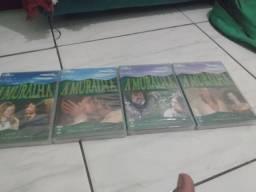 Coleção A Muralha dvd globo ( 4 partes )