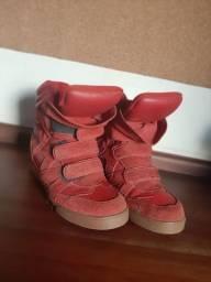 tênis sneaker QIX feminino plataforma