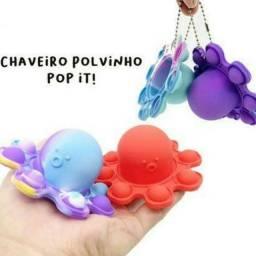 Chaveiro povinho pop it