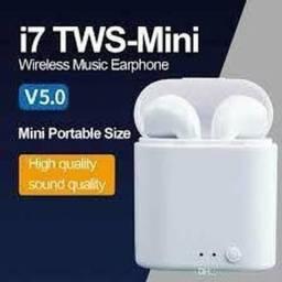Fone sem fio Bluetooth i7 - MiNi original