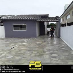 Casa com 2 dormitórios à venda por R$ 150.000 - Conde/PB