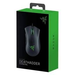 Mouse Razer Deathadder Essential preto 6400Dpi Original Novo
