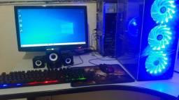 """CPU Gamer I7 16GB Sdd RX 550 2gb tela 20"""""""