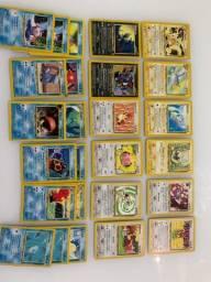 Pokemon | Lote 1 - Neo | 2001 - RARO - Todos os cards da foto