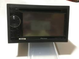 DVD 2Din Pionner AVH 2480BT Com TV digita e camera de ré
