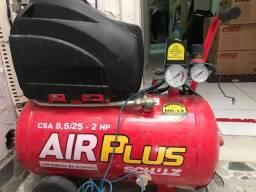 Compressor de Ar AirPlus CSI 8,5/25L 220V Schulz