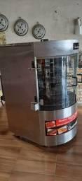 Assador rotativo vertical