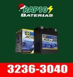 Baterias Moura original motos -