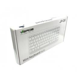 Mini Teclado Usb c/ Fio (JP-06) Branco