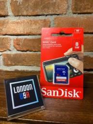 Cartão de memória SDHC - 8Gb