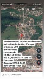 Venda de Lote - Cidade Jardim 6? Etapa