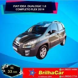 Fiat Idea Adv Dualogic 1.8 Flex -2013-2014