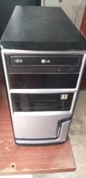 Computador Gamer de entrada Core 2 Quad 2.66ghz, 4GB de RAM e 500HD + monitor
