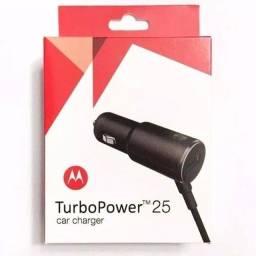 Carregador de celular power turbo para carros 25W