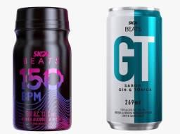 Skol beats GT e Skol beats 150 bpm Kit com 6 unidades