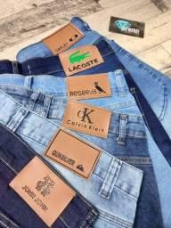 Bermuda Jeans de Grife ( Produto Novo )
