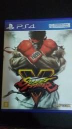 Street fighter 5 Playstation 4 venda ou troca