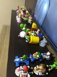 Coleção bonecos Super Mario Mc Donalds completa aceito cartão
