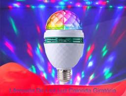 Lâmpada de Led luz colorida