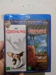 Blu ray gremlins 1 e 2