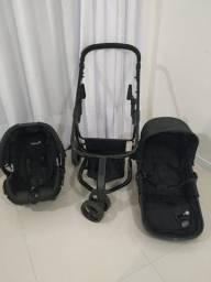 Carrinho de Bebê com Bebê Conforto Safety 1st