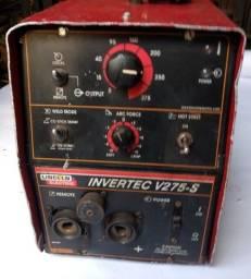 Máquina Inversora de Solda Invertec Lincoln 275a