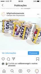 Tubo latas Now United
