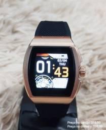 Relógio digital inteligente smartwatch C1 importado premium