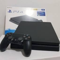 PS4 Slim 1TB + Jogos ( Ate 12x com acrescimo )