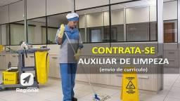 Vaga Emprego auxiliar de limpeza