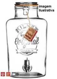 Suqueira em vidro 8 litros