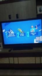 TV LG 43 sem defeitos com controle