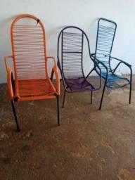 As 3 cadeiras por $90,00