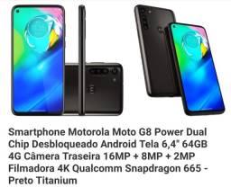 Moto G 8 Power 2 meses de uso (Novo)