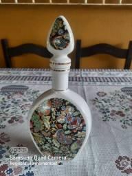 Garrafa de porcelana / licoreira, porcelana VeraCruz