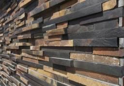 Filete de Pedra Ferro Basalto 5cm Natural Magnifique Pisos e Revestimentos