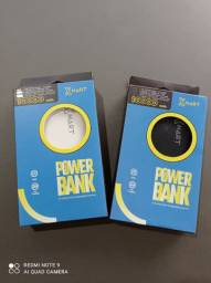 Powerbank Xmart 10.000mah tipo C, V8 e iPhone.