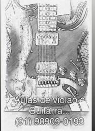Aulas de Violão & Guitarra.